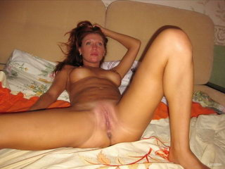 Hot woman fucking with dildo on the sofa 10