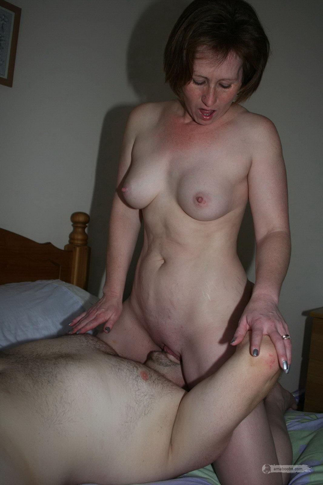 Mature homemade big tits